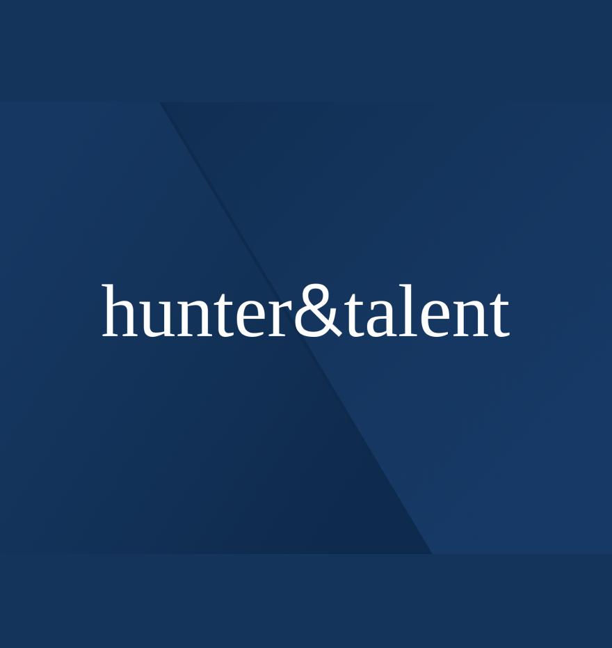 Hunter & talent